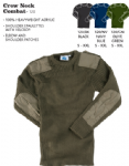 Crew Neck Combat / Security Jumper (S- 3XL = 36-58)